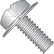 6-32X3/8  Phillips Pan Square Cone Sems Fully Threaded 18 8 Stainless Steel, Pkg of 5000
