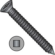 #6 x 2-1/4 Square Drive Trim Head Drywall Screw Fine Thread Black Phosphate - Pkg of 3000
