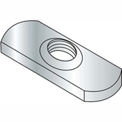 6-32  Spot Weld Center Hole Tab Weld Nut Plain, Pkg of 1000