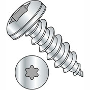 #8 x 3/4 6 Lobe Pan Self Tapping Screw - Type A Fully Threaded - Zinc Bake - Pkg of 8000