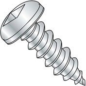 #8 x 1-1/4 Square Pan Self Tapping Screw Type A Fully Threaded Zinc - Pkg of 4000