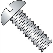 8-32X4 1/4  Slotted Round Machine Screw Fully Threaded 18 8 Stainless Steel, Pkg of 300