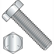 1-8 x 3-1/2 Hex Tap Bolt - Grade 5 - Fully Threaded - Zinc - Pkg of 5