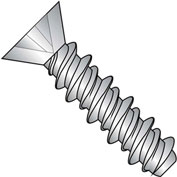 #10 x 5/8 Phillips Flat High Low Screw Fully Threaded 410 Stainless Steel - Pkg of 4000