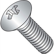 10-24X3/4  Phillips Oval Machine Screw Fully Threaded 18 8 Stainless Steel, Pkg of 2000