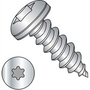 #10 x 1 Six Lobe Pan Self Tapping Screw Type A Fully Threaded 18-8 Stainless Steel - Pkg of 2000