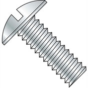 10-24X3  Slotted Truss Machine Screw Fully Threaded Zinc, Pkg of 800