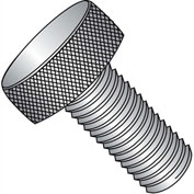10-32X3/8  Knurled Thumb Screw Full Thread 18 8 Stainless Steel, Pkg of 50