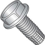 1/4-20 x 1/2 Unslotted Ind. Hex Washer Thread Cutting Screw Fully Thread 18-8SS - Pkg of 1000