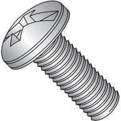 1/4-20X5/8  Combination Pan Head Machine Screw Fully Threaded 18 8 Stainless Steel, Pkg of 1500