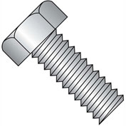 1/4-20X5/8  Unslotted Indented Hex Head Machine Screw Full Thrd 18 8 Stainless Steel, Pkg of 1000