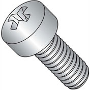 1/4-20X5/8  Phillips Fillister Machine Screw Fully Threaded 18 8 Stainless Steel, Pkg of 1000