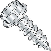 #14 x 3/4 .428-.437A/F Unslotted Indent Hex Washer Self Tap Type A Full Thread Zinc Bake,2500 pcs