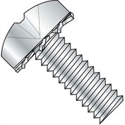 1/4-20X1 1/2  Phillips Pan External Sems Machine Screw Fully Threaded Zinc Bake, Pkg of 1250