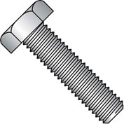 1/4-20X5  Hex Tap Bolt Fully Threaded 18 8 Stainless Steel, Pkg of 100