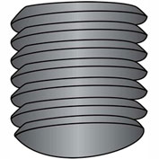 1/4-28X1/2  Fine Thread Socket Set Screw Oval Point  Plain Imported, Pkg of 10