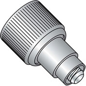 10-32 x .440 x .125 Retractable Captive Panel Fastener Flare In Style Natural - Pkg of 20