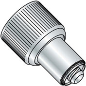 10-32 x .340 x .036 Retractable Captive Panel Fastener Press In Style Natural - Pkg of 20