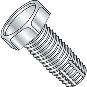 5/16-18X1/2  Unslotted Indented Hex Thread Cutting Screw Type F Fully Threaded Zinc, Pkg of 2000
