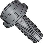 5/16-18X3/4  Unslotted Indent Hex Washer Thread Cutting Screw Type F Full Thread Blk Oxide,1500 pcs