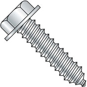 5/16-9X1 5/8  A/F.428-.437 Head Hgt.200-.230 Unslot Indent Hexwash Lag Screw Full Thrd Zinc,900 pcs