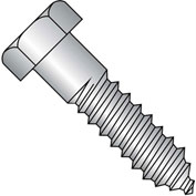 3/8X5 1/2  Hex Lag Screw 18 8 Stainless Steel, Pkg of 50