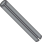 7/16x4 Spring Pin Slotted Plain, Pkg of 100