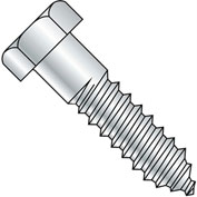 1/2X10  Hex Lag Screw Zinc Gimlet Point, Pkg of 40