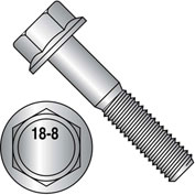 1/2-13X2  Hex Head Flange Frame Bolt IFI-111 2002 18 8 Stainless Steel, Pkg of 100