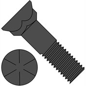 5/8-11X3  Grade 8 Plow Bolt With Number 3 Head Plain, Pkg of 175