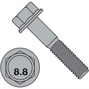 M12-1.75X60   DIN 6921 Class 8 Point 8 Metric Flange Bolt Screw  Plain, Pkg of 100