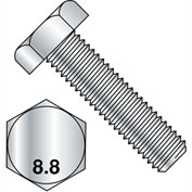 M24-3X90  Din 933 8 Point 8 Metric Fully Threaded Cap Screw Zinc, Pkg of 5
