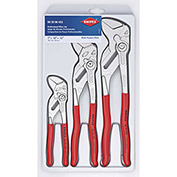 KNIPEX® 00 20 06 US2 3 Pc Pliers Wrench Set (7, 10, & 12)