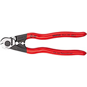 "KNIPEX® 95 61 190 SBA Wire Rope Cutters 7-1/2"" OAL"