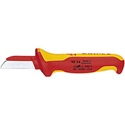 "KNIPEX® 98 54 SB Insulated Cable Knife 1,000V 7-1/4"" OAL"
