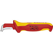 KNIPEX® 98 55 Insulated Dismantling Knife-1,000V