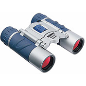 Konus 2024 Explo 10x25mm Binoculars, Central Focus, Ruby Coating, Blue/Silver