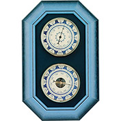 Konus 6377 Double Wall Set With Thermometer & Barometer, Blue