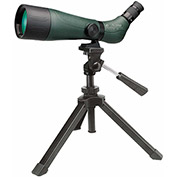 Konus 7121 Konuspot-70 20-60x70 Zoom Spotting Scope With Table Tripod, Green