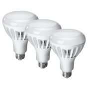 Kobi Electric K2L9-3 LED BR30, 12W, 2700K, 700 Lumens, Indoor Flood, Dimmable - Pkg Qty 3