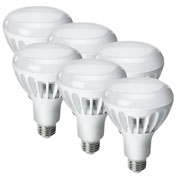 Kobi Electric K2L9-6 LED BR30, 12W, 2700K, 700 Lumens, Indoor Flood, Dimmable - Pkg Qty 6
