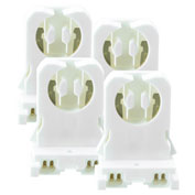 Kobi Electric K3R0-4 G13-T8-S T8 G13 Non-Shunted Tombstones - Pkg Qty 4