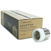 Kobi Electric KA-E39M-E26F K8N3-10 Adapter Changes An E39 To An E26 Socket - Pkg Qty 10