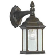 "Kenroy Lighting, Custom Fit 1 Light Wall Lantern, 16266GBRZ, Golden Bronze Finish, Aluminum, 8""L"