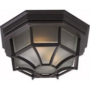 "Kenroy Lighting, Dural 2 Light Flush Mount, 16289BRZ, Bronze Finish, Glass, 11""L"