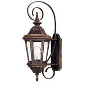 "Kenroy Lighting, Estate Small Wall Lantern, 16312AP, Antique Patina Finish, Aluminum, 10""L"