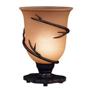 "Kenroy Lighting, Twigs Table Torchiere, 30913BRZ, Bronze Finish, Metal, 8""L"