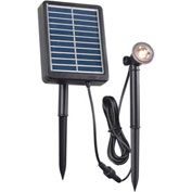 "Kenroy Lighting, Solar Spotlight, 60500, .5W, Black, Plastic, 1""L"