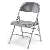Ki 300 Series Steel Folding Chair - Warm Gray - Pkg Qty 4