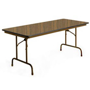 "KI Folding Table - Laminate - 30""Wx60""L - English Oak - Heritage Series"